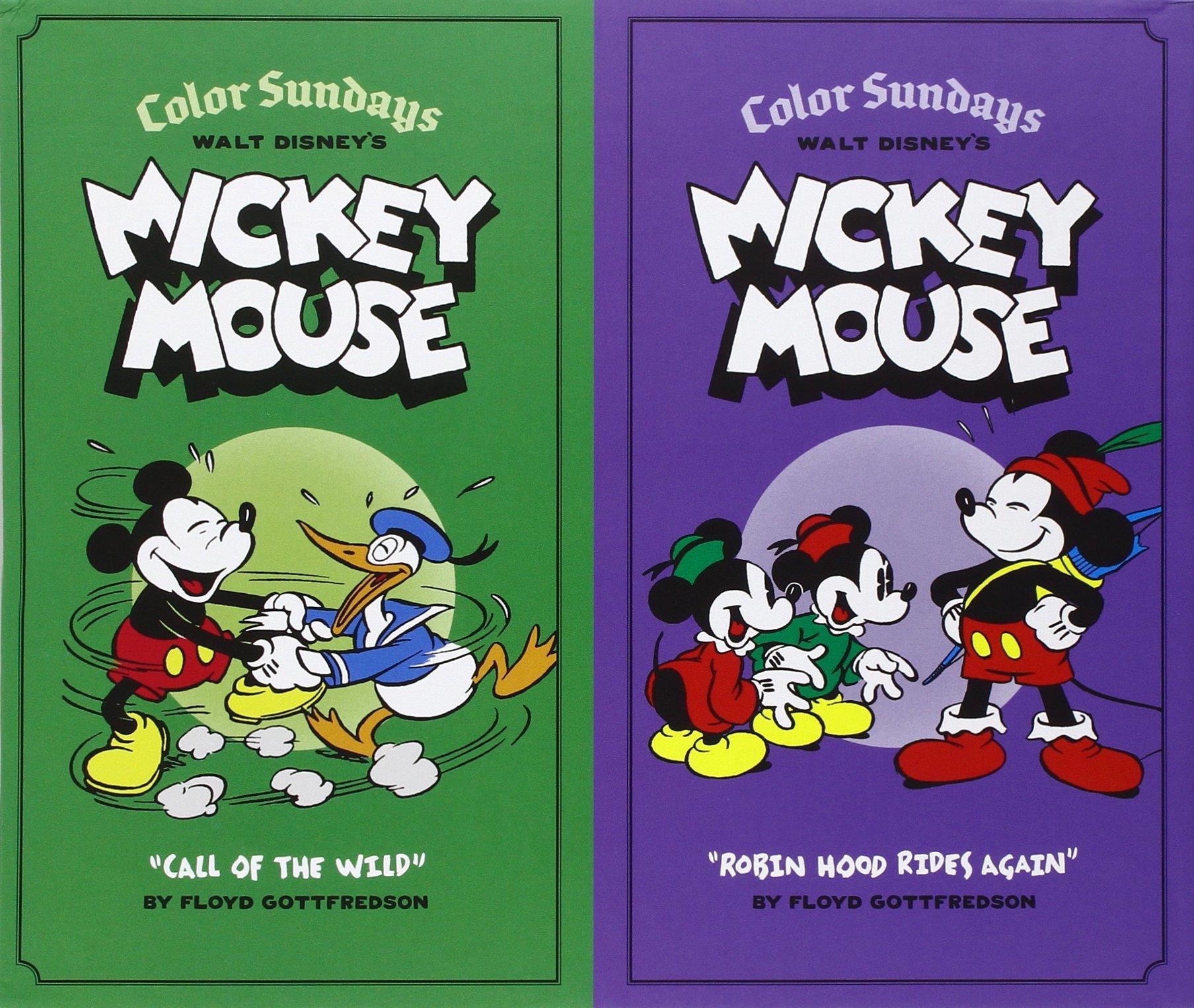 Walt Disney's Mickey Mouse: Color Sundays Gift Box Set