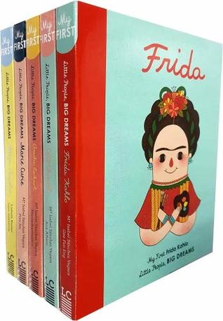 Little People, Big Dreams 5 Books Collection Set (Amelia Earhart, Marie Curie, Maya Angelou, Coco Chanel)