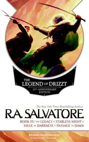 Legend of Drizzt 25th Anniversary Edition (Books 7, 8, 9 & 10)