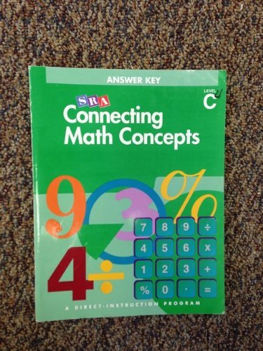 Connecting Math Concepts, Answer Key, Level C
