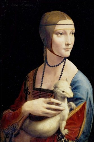 Composition Book: The Lady With The Ermine by Leonardo Da Vinci