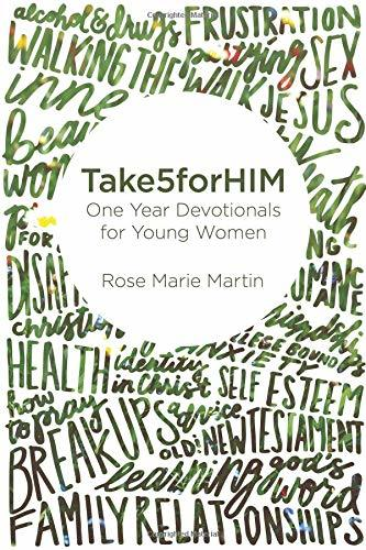 Take5forHIM: One Year Devotionals for Young Women