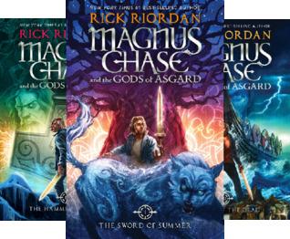 Rick Riordan's Norse Mythology (3 Book Series)