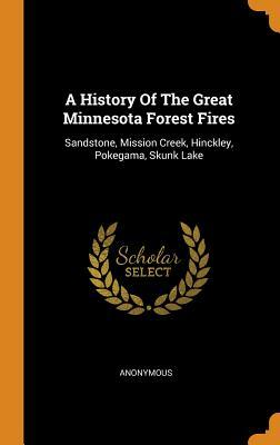 A History of the Great Minnesota Forest Fires: Sandstone, Mission Creek, Hinckley, Pokegama, Skunk Lake