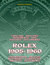 Rolex 1905-1960 - Timeline Watches Movements Ads Patents Documents (Watch Books, #4) by Marco Strazzi