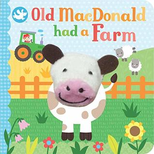 Old MacDonald Had a Farm Finger Puppet Book