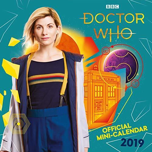 Doctor Who Mini Official 2019 Calendar - Mini Wall Calendar Format