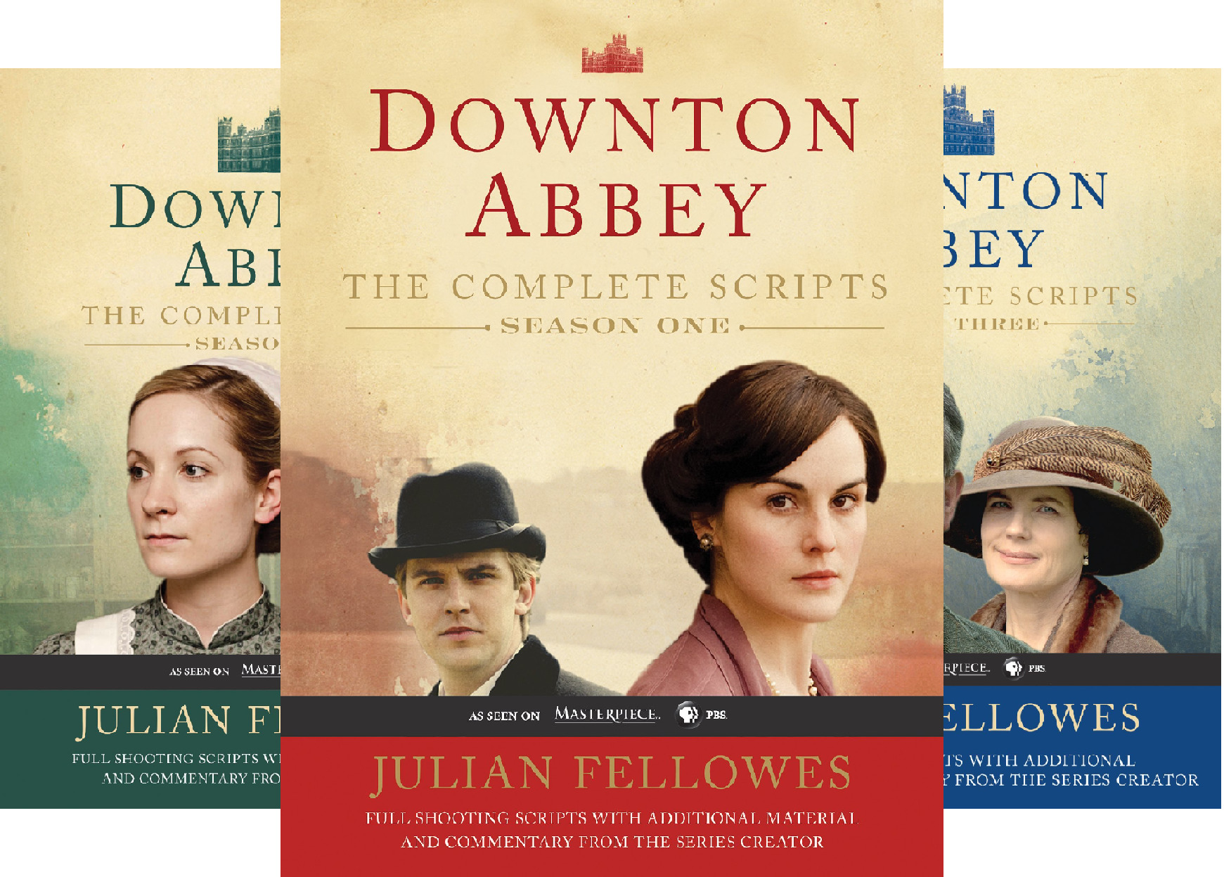 Downton Abbey Script Book Season (3 Book Series)