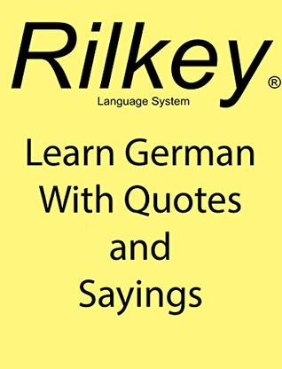 Learn German With Quotes and Sayings