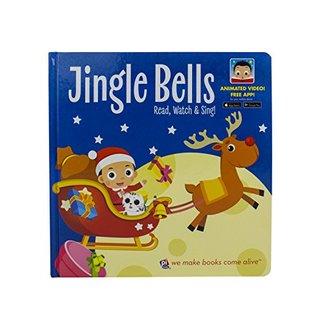 Jingle Bells Christmas Video Board Book - Read, Watch, & Sing! - Free Downloadable App - PI Kids