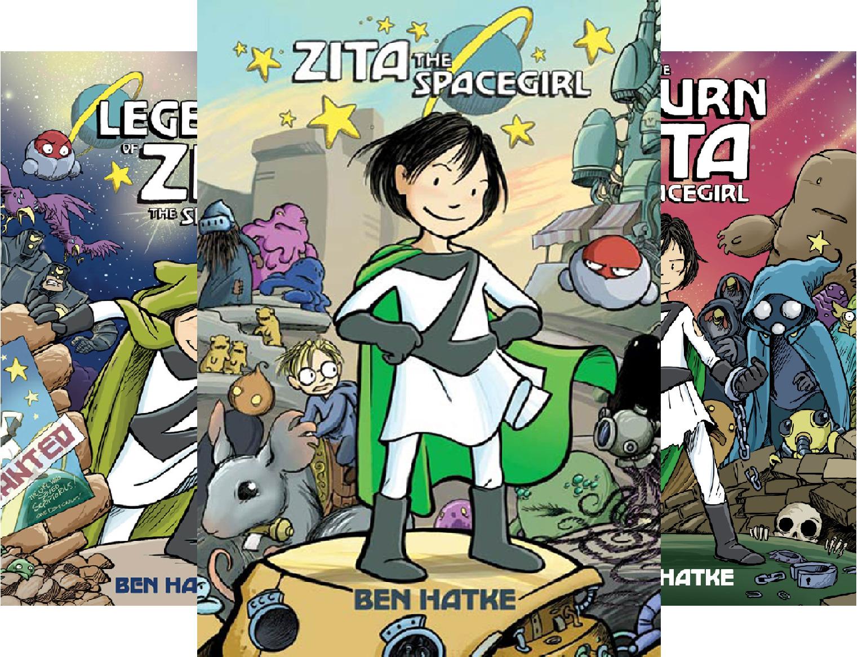 Zita the Spacegirl Series (3 Book Series)