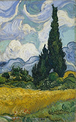 Van Gogh Notebook: Wheat Field with Cypresses, July 1889 (Van Gogh Notebook, notebook, journal, journal notebook, journal for girls, journal for women, journal prompts) (Volume 3)