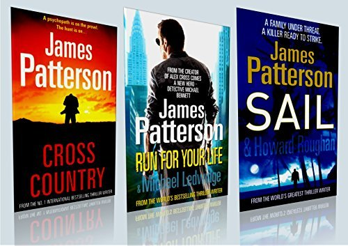 The James Patterson Collection Three Book Box Set (Sealed, Brand New)Titles included: 1. Cross Country 2. Run For Your Life 3. Sail RRP: £23.97