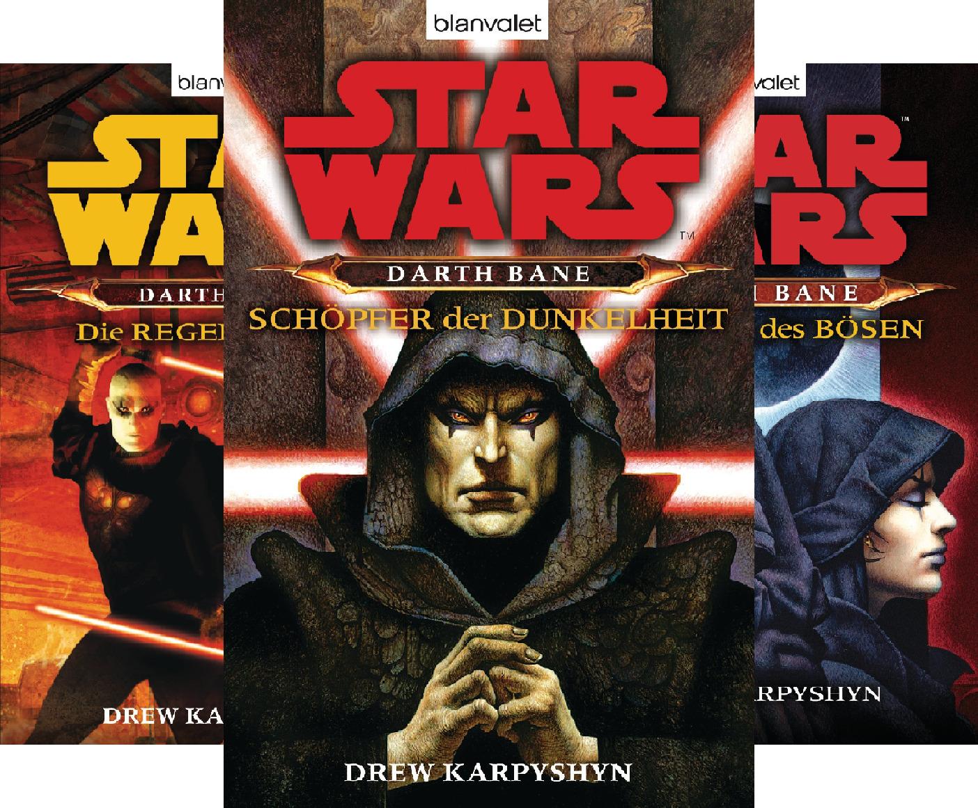 Star Wars - Darth Bane (Reihe in 3 Bänden)
