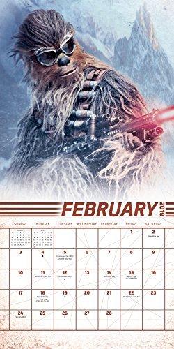 2019 Solo: A Star Wars Story Mini Calendar