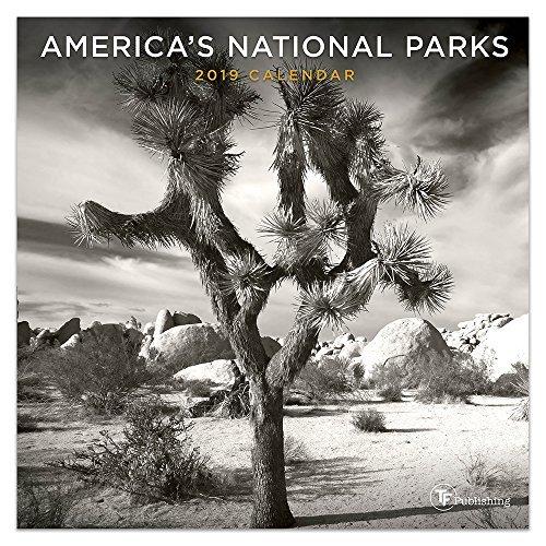 2019 America's National Parks Black and White Mini Calendar