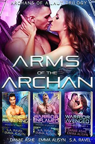 Arms of the Archan: A Sci-Fi Fantasy Alien Romance Trilogy Box set