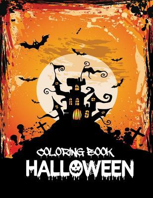 Halloween Coloring Book: Coloring Book for Kids and Adults with Fun, Easy, and Relaxing Coloring Pages