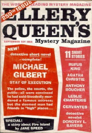 Ellery Queen's Mystery Magazine, September 1964 (Vol. 43, no. 9)