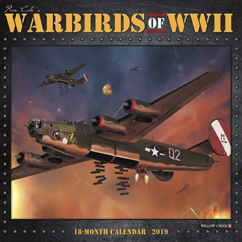 Warbirds of WWII 2019 Wall Calendar