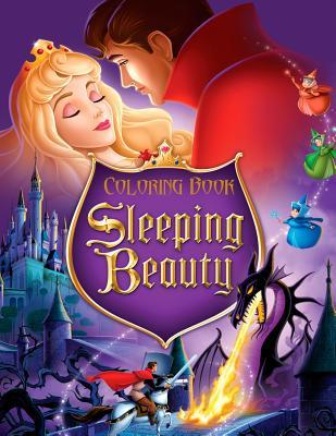 Sleeping Beauty Coloring Book: Coloring Book for Kids and Adults with Fun, Easy, and Relaxing Coloring Pages