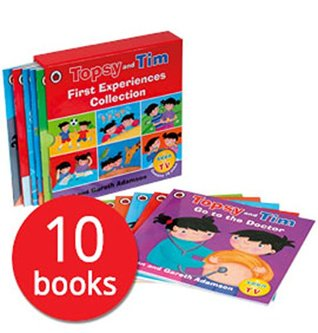 Topsy and Tim First Experiences 10-copy slipcase