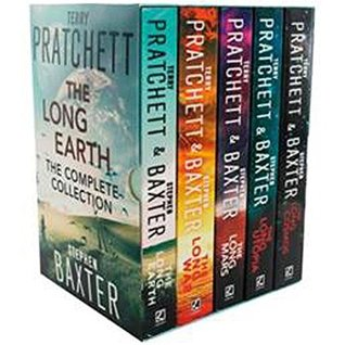 The Long Earth Series 5 Books Collection Terry Pratchett and Stephen Baxter Box Set