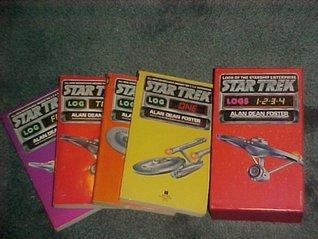 Star Trek Log 1 2 3 4 Volumes (Logs of the Starship Enterprise, 4 paperbacks in hard slipcase)