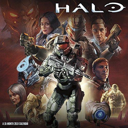 2019 Halo Wall Calendar