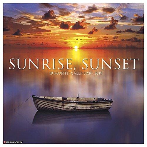 Sunrise, Sunset 2019 Wall Calendar