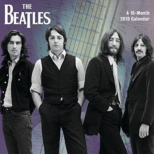 Beatles Mini Wall Calendar (2019)