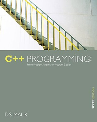 Malik's C++ Programming: From Problem Analysis to Program Design, 6th Edition plus 6-months instant access to CourseMate.
