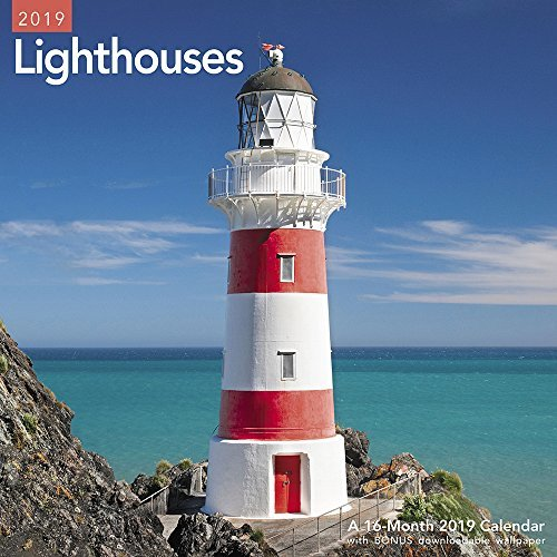 Lighthouses Wall Calendar (2019)