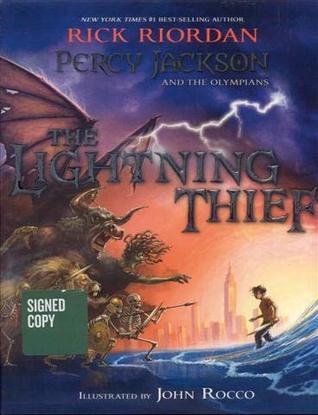 The Lightning Thief (Illustrated Edition)
