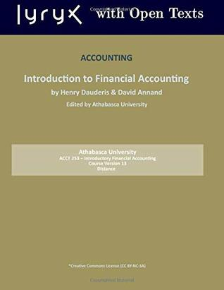 Accounting:Introduction to Financial Accounting