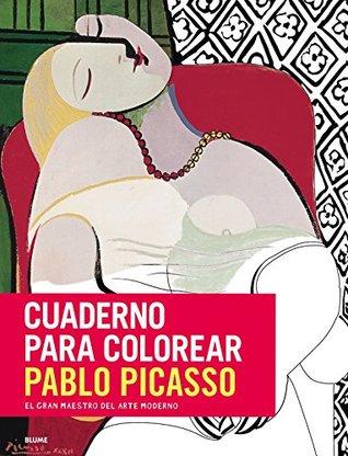 Cuaderno para colorear Pablo Picasso