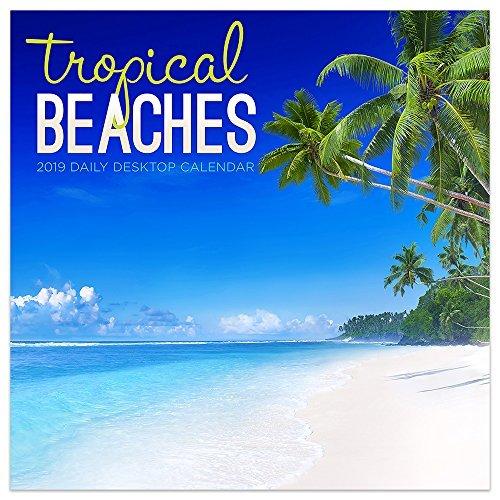 2019 Tropical Beaches Daily Desk Calendar
