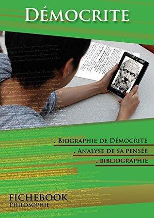 Comprendre Démocrite (Fichebook)