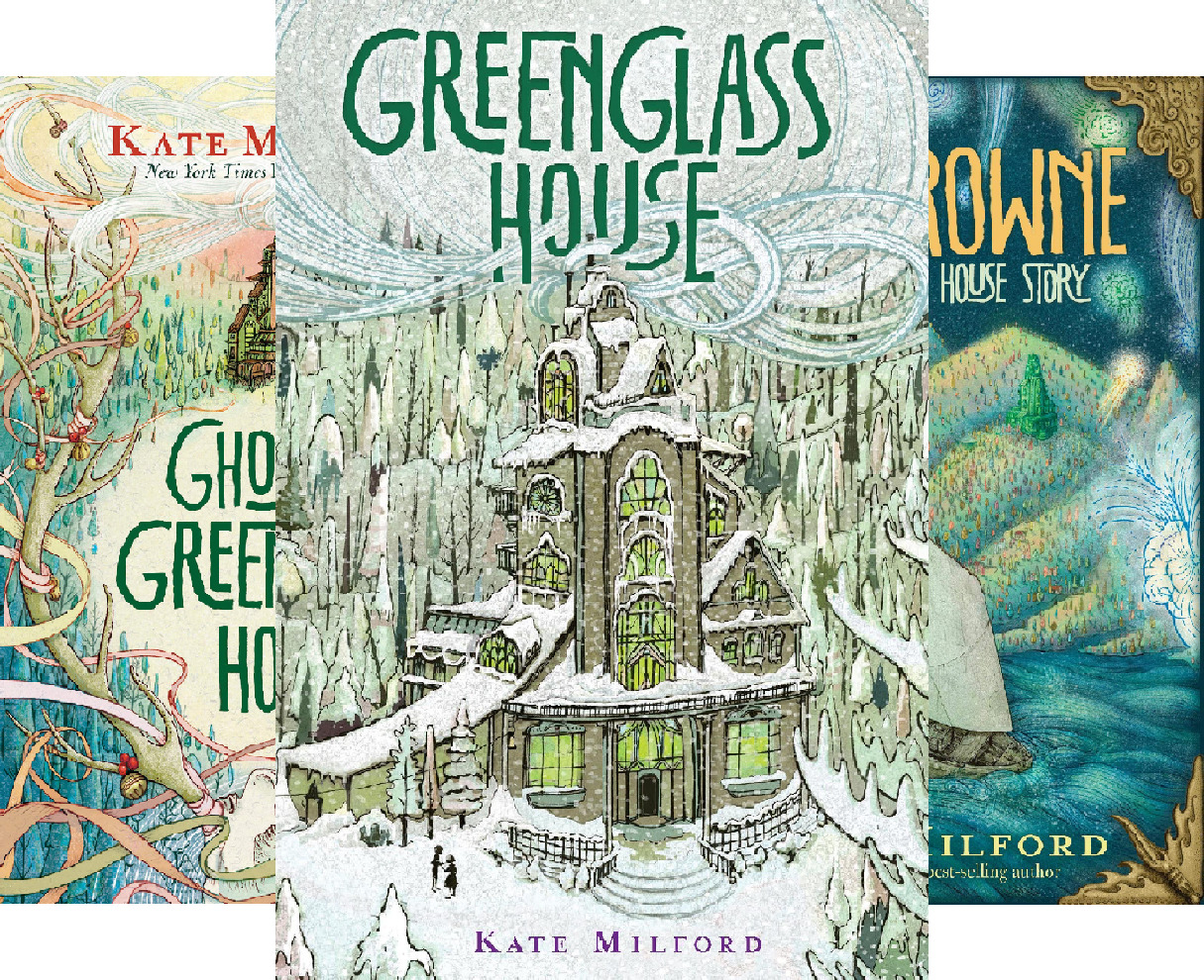 Greenglass House #1-3 (3 Book Series)