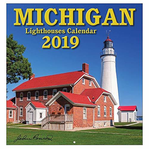 2019 Michigan Lighthouses Wall Calendar