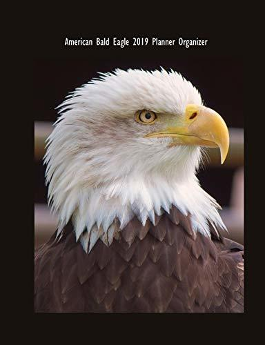 American Bald Eagle 2019 Planner Organizer: Monthly Weekly Daily Agenda Engagement Calendar