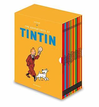 Tintin Paperback Boxed Set