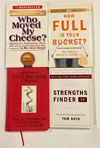 4 Books! 1) Who Moved My Cheese 2) How Full Is Your Bucket 3) Little Red Book of Selling 4) Strengths Finder 2.0