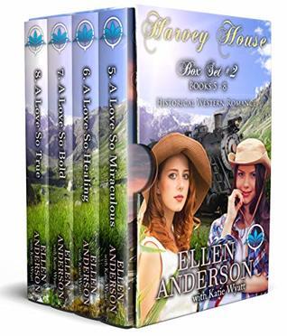 Harvey House Box Set # 2 Books 5 - 8: Historical Western Romance (Harvey House Series Book 14)