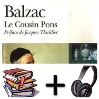 Cousin Pons Audiobook PACK [book + 1 CD MP3]