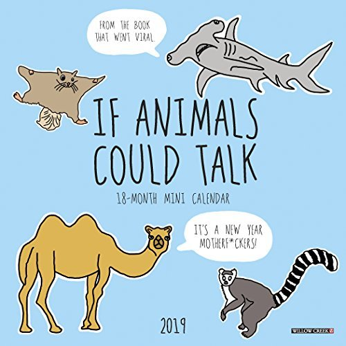 If Animals Could Talk Mini 2019 Wall Calendar