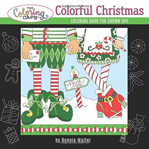 The Coloring Cafe-Colorful Christmas
