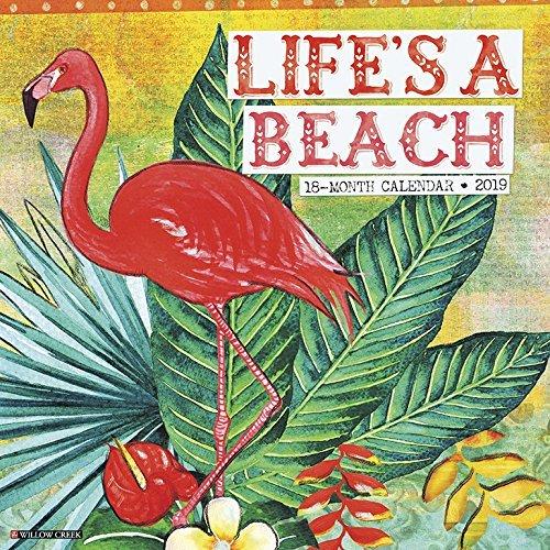 Life's a Beach 2019 Wall Calendar