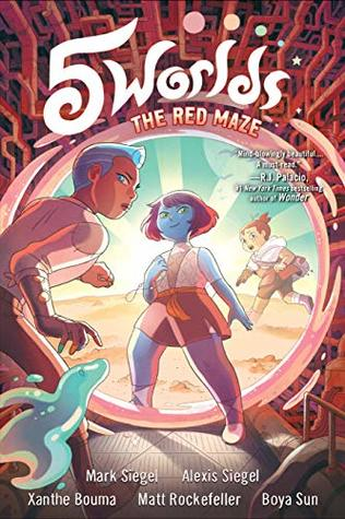 The Red Maze (5 Worlds Book, #3)