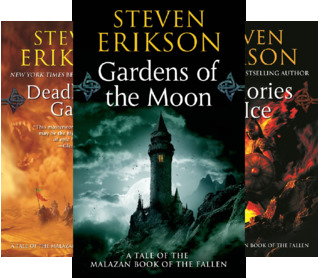 The Malazan Book Of The Fallen (10 Book Series)
